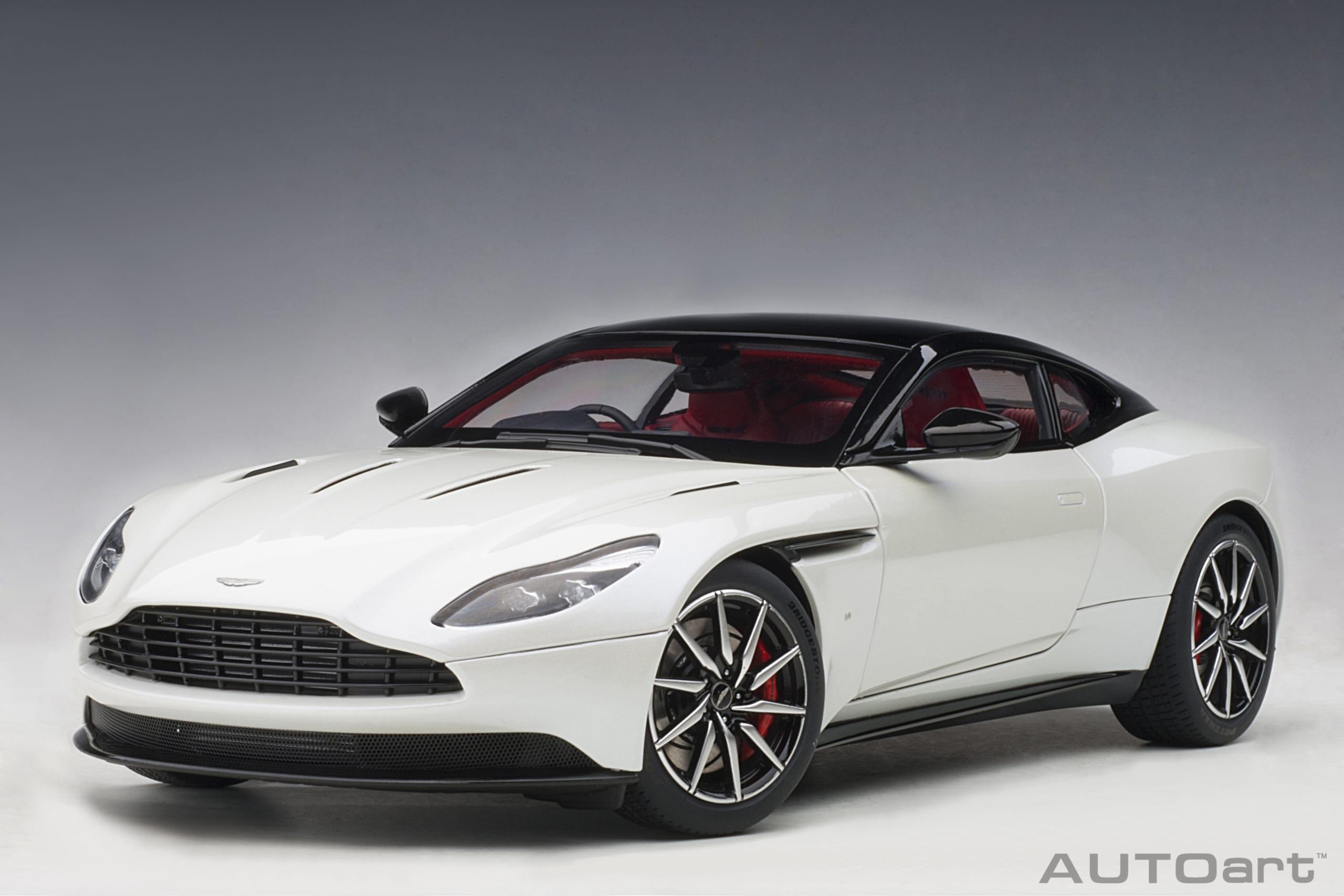Autoart Aston Martin Db11 Morning Frost White 1 18 70266 Automodelismo Y Aeromodelismo Juguetes