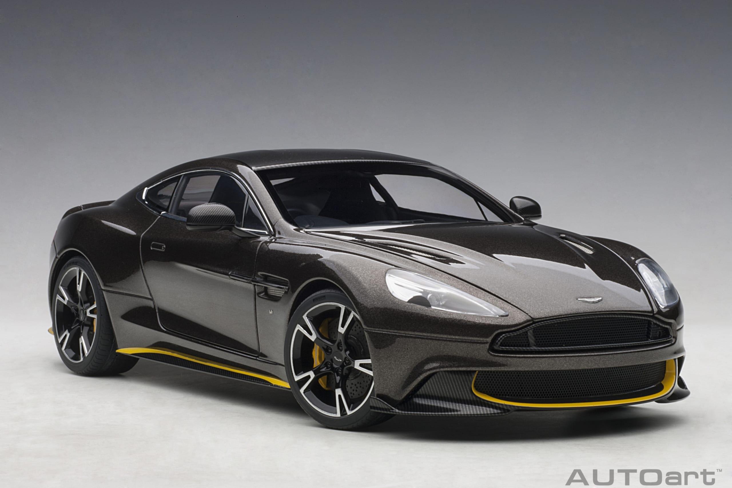 Aston Martin Vanquish S 2017 Kopi Bronze Autoart