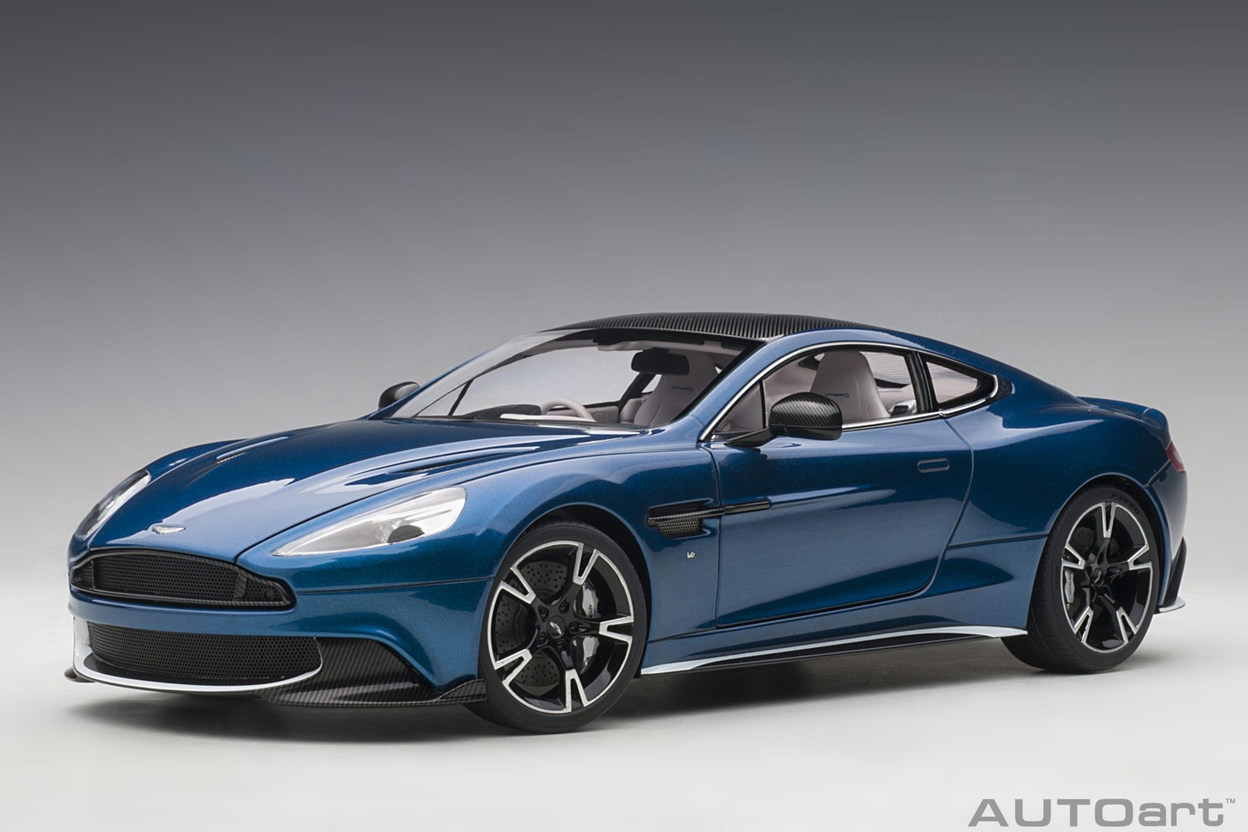 Aston Martin Vanquish S 2017 Ming Blue Autoart
