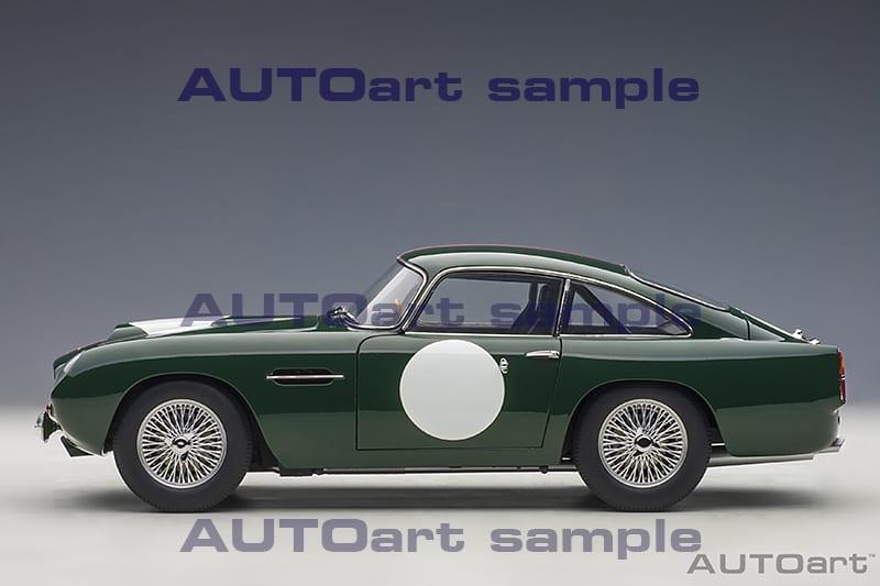 Aston Martin Db4 G T Continuation Aston Racing Green Autoart