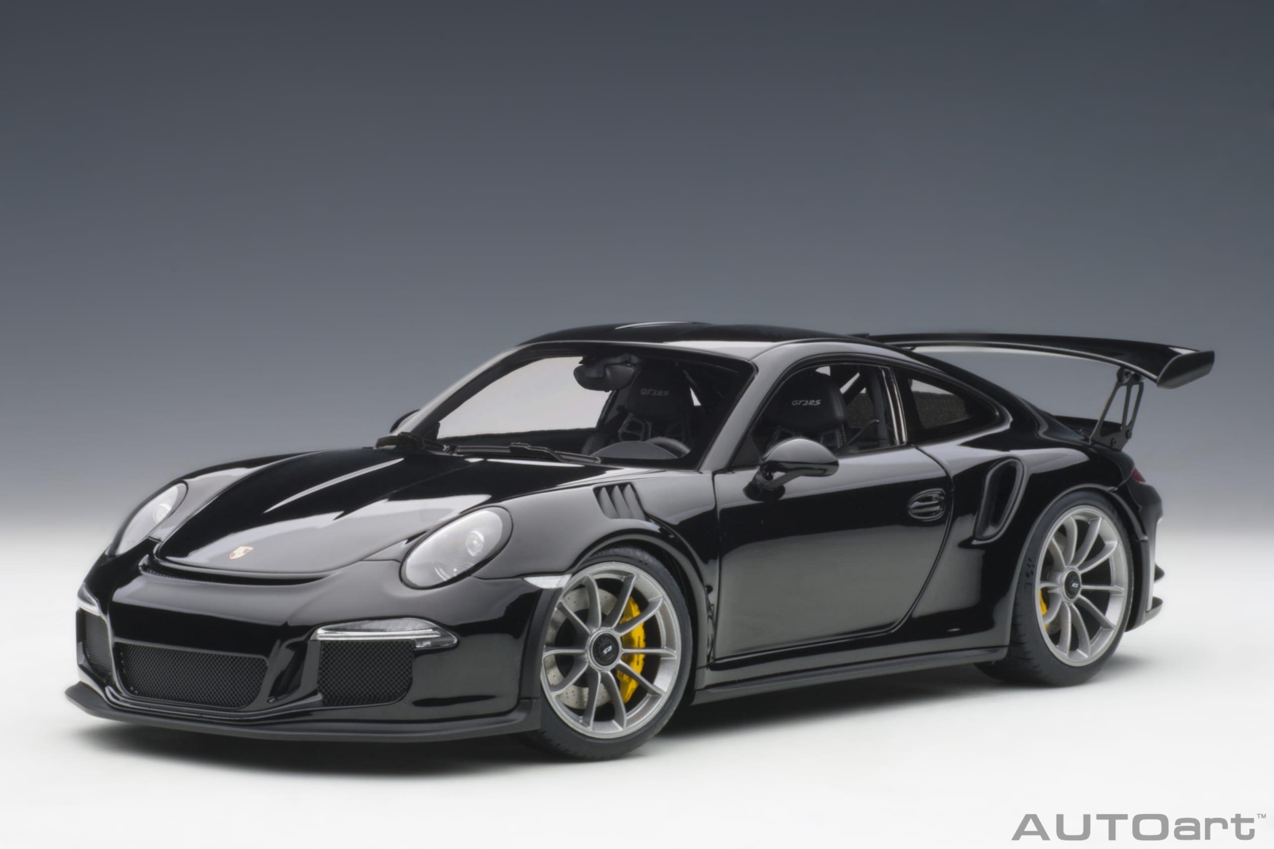 Porsche 911 991 Gt3 Rs Black Autoart