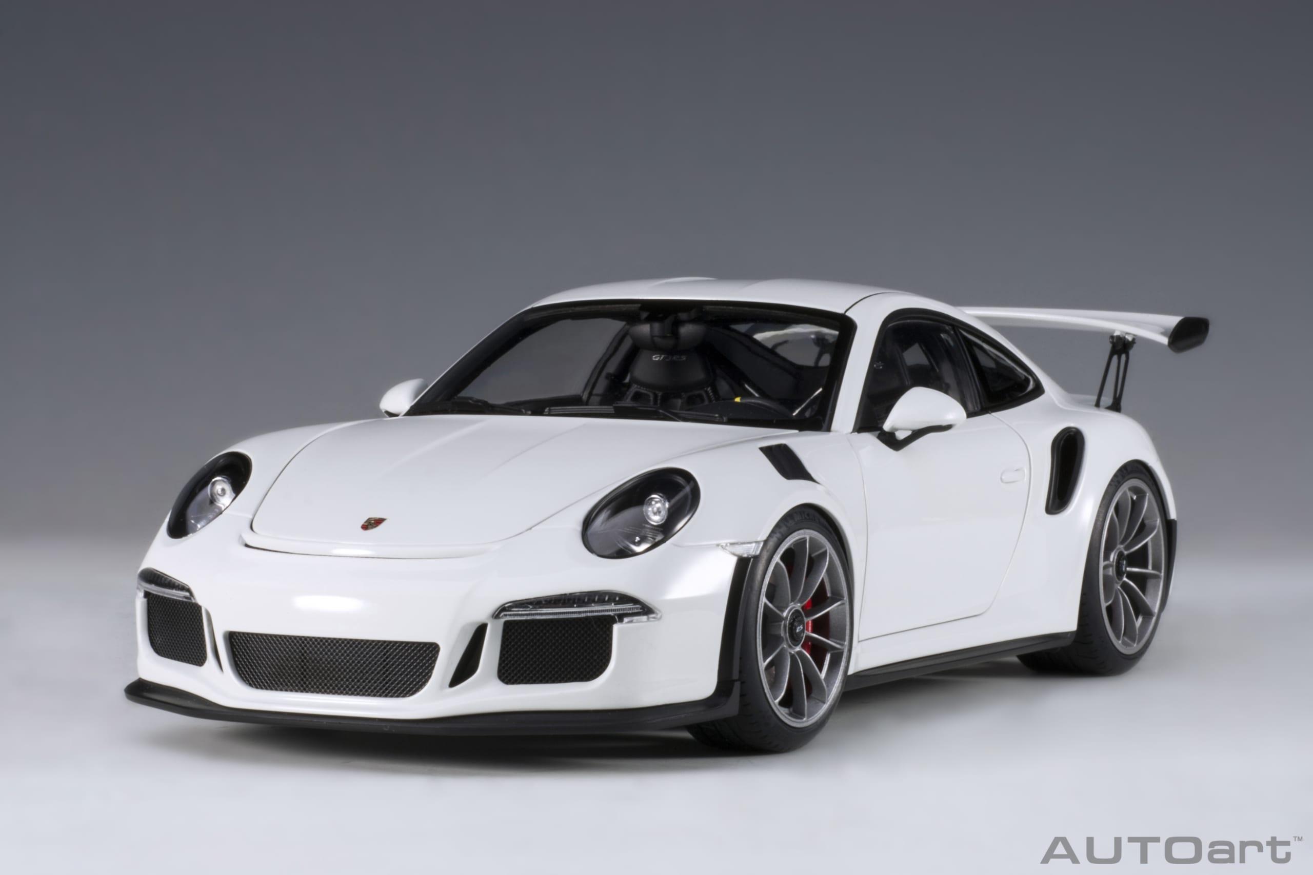 Porsche 911 991 Gt3 Rs White Autoart