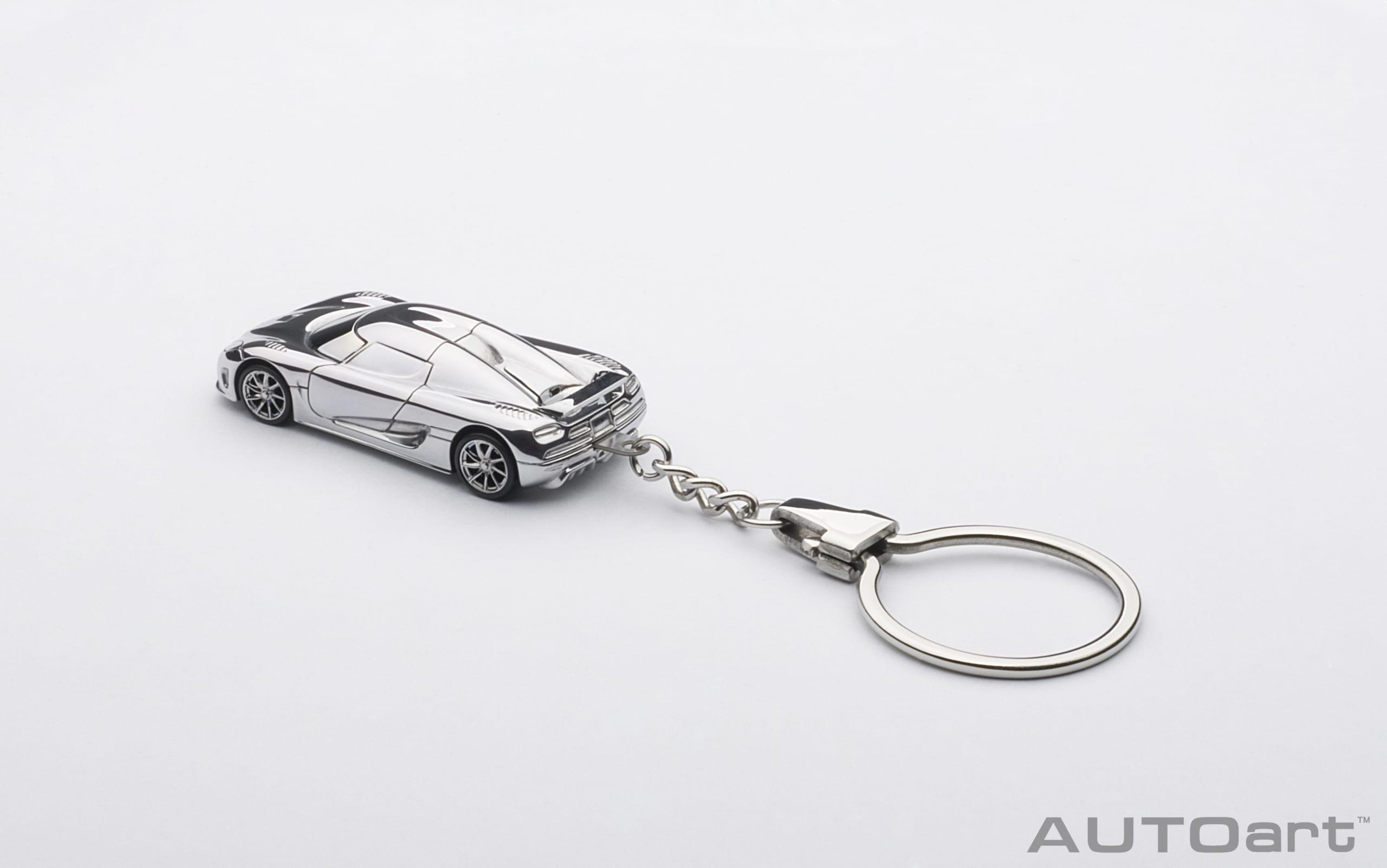 Koenigsegg Agera aluminium casting 1:87 AUTOart keyring